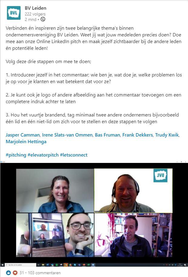 BV Leiden LinkedIn bedrijfsprofiel